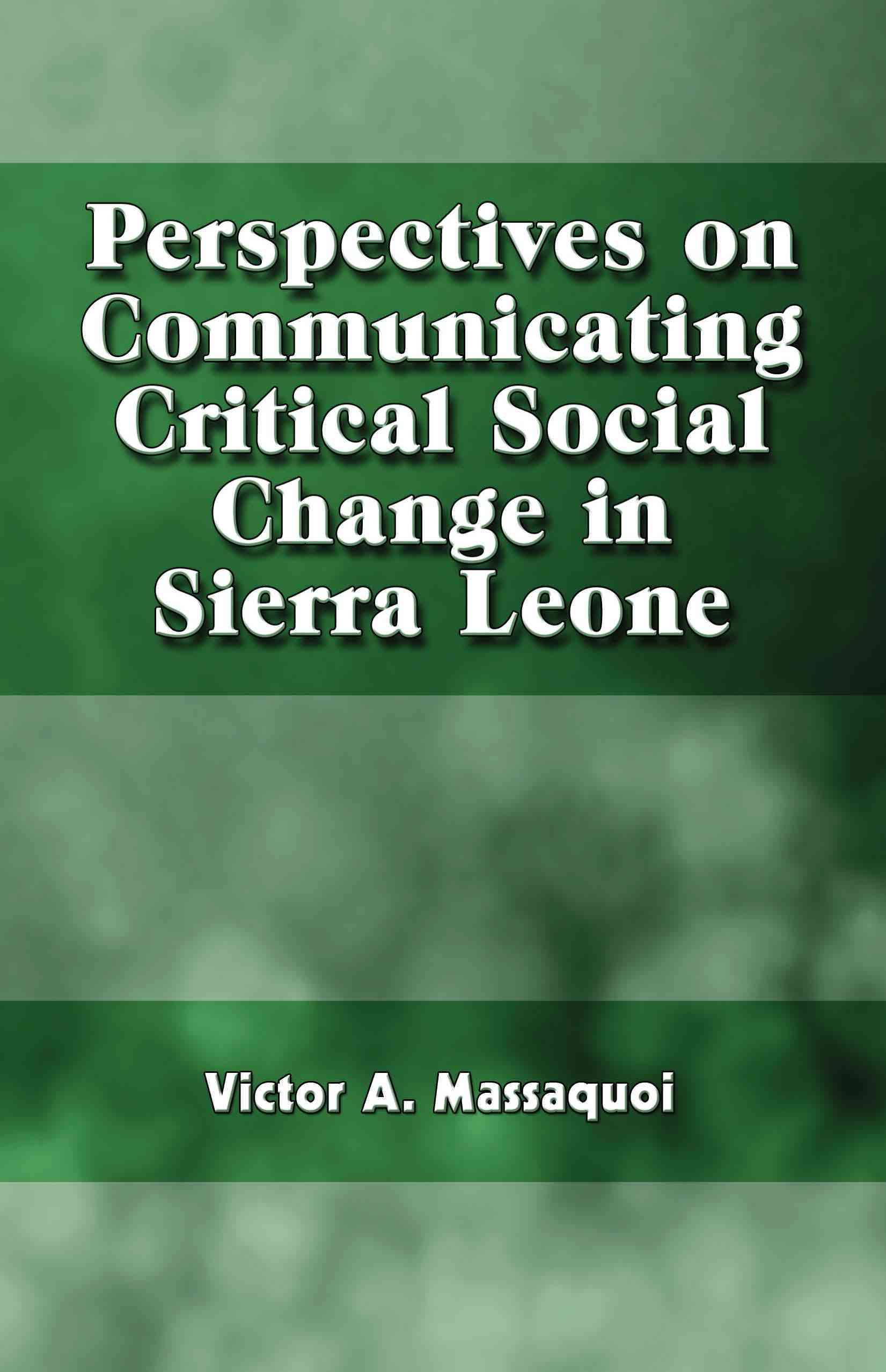 changes in social classes in sierra leone Climate change will produce dramatically unequal impacts across regions and social classes  eritrea and sierra leone,  panel on climate change.